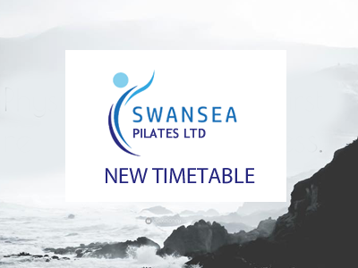 New Swansea Pilates timetable for Spring 2018